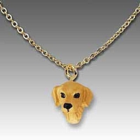 Golden Retriever Tiny One Pendant