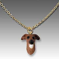Italian Greyhound Tiny One Pendant