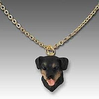 Rottweiler Tiny One Pendant