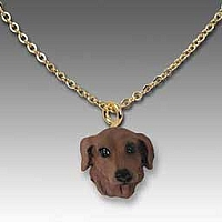 Dachshund Red Tiny One Pendant