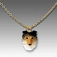 Sheltie Sable Tiny One Pendant