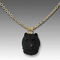 Chow Black Tiny One Pendant