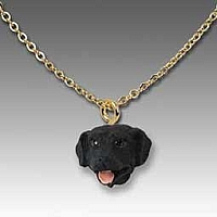 Labrador Retriever Black Tiny One Pendant