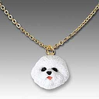 Bichon Frise Tiny One Pendant