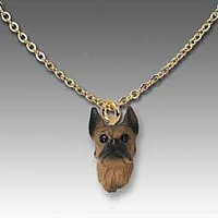 Boxer Tawny Tiny One Pendant
