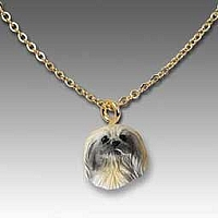 Pekingese Tiny One Pendant