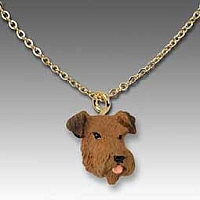 Airedale Tiny One Pendant
