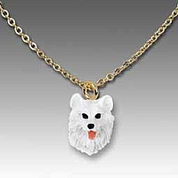 Samoyed Tiny One Pendant