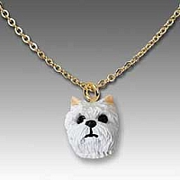 West Highland Terrier Tiny One Pendant