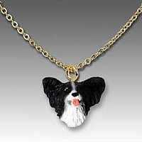 Papillon Black & White Tiny One Pendant