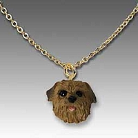Norfolk Terrier Tiny One Pendant