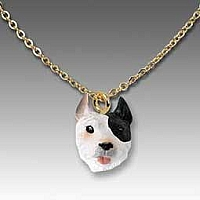 Pit Bull Terrier Brindle Tiny One Pendant