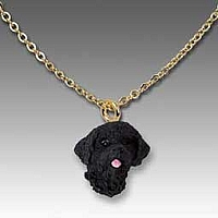 Portuguese Water Dog Tiny One Pendant