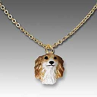 Borzoi Tiny One Pendant