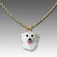 Kuvasz Tiny One Pendant