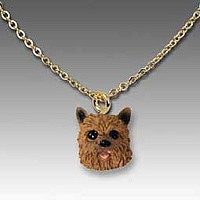 Norwich Terrier Tiny One Pendant