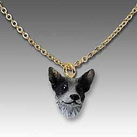 Australian Cattle BlueDog Tiny One Pendant