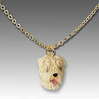 Soft Coated Wheaten Terrier Tiny One Pendant