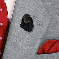 Cocker Spaniel Black & Tan Pin