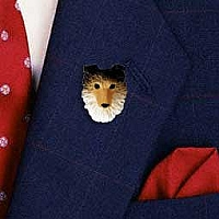 Sheltie Sable Pin
