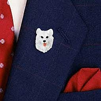 Samoyed Pin