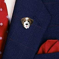 Saint Bernard w/Smooth Coat Pin