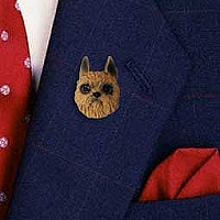 Brussels Griffon Red Pin