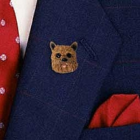 Norwich Terrier Pin