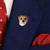 Border Terrier Pin