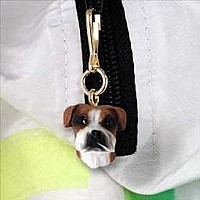 Boxer Uncropped Zipper Charm