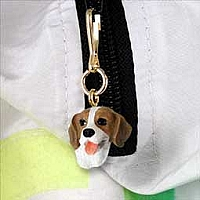 Beagle Zipper Charm