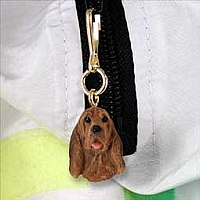Bloodhound Zipper Charm