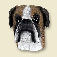 Boxer w/Uncropped Ears Magnet