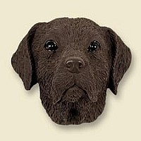 Labrador Retriever Chocolate Magnet