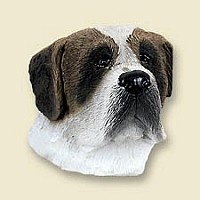 Saint Bernard w/Smooth Coat Magnet