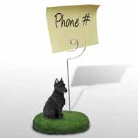 Bouvier des Flandres Memo Holder
