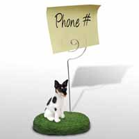 Rat Terrier Memo Holder