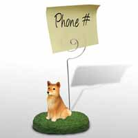 Finnish Spitz Memo Holder