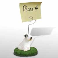 Sealyham Terrier Memo Holder