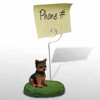 Yorkshire Terrier Puppy Cut Memo Holder