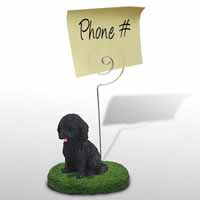 Cockapoo Black Memo Holder