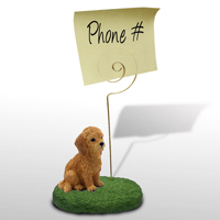 Goldendoodle Memo Holder