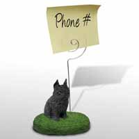 Brussels Griffon Black Memo Holder