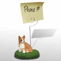Welsh Corgi Pembroke Memo Holder