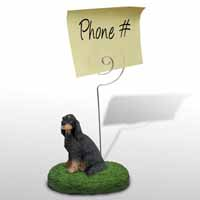 Gordon Setter Memo Holder