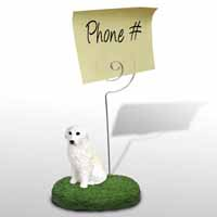 Great Pyrenees Memo Holder