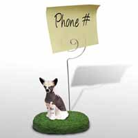 Chinese Crested Dog Memo Holder