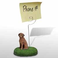 Chesapeake Bay Retriever Memo Holder