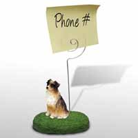 Australian Shepherd Brown Memo Holder