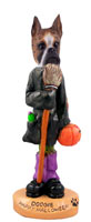 Boxer Brindle Happy Halloween Doogie Collectable Figurine
